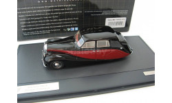 Daimler DB 18 Hooper Empress black/red, масштабная модель, 1:43, 1/43, Matrix