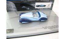 Delahaye Type 135-M Cabriolet 1937 г., масштабная модель, scale43, Minichamps