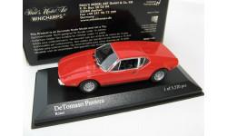 DeTomaso Pantera 1972 red, масштабная модель, 1:43, 1/43, Minichamps, De Tomaso