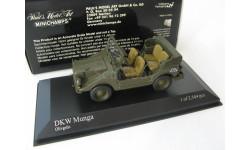 DKW Munga 1955-68 matt olive RARE!