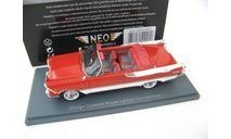 Dodge Custom Royal Lancer Convertible red/white 1959 г., масштабная модель, Neo Scale Models, scale43