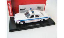 Dodge Monaco Chicago Police 1974 г., масштабная модель, 1:43, 1/43, ERTL (Auto World)