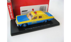 Dodge Monaco New York State Police 1974 г., масштабная модель, 1:43, 1/43, ERTL (Auto World)