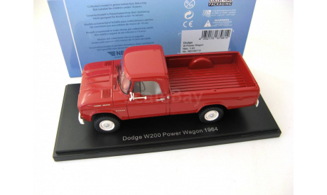 Dodge W200 Power Wagon red SALE!, масштабная модель, scale43, Neo Scale Models