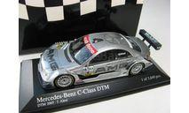 DTM Mercedes-Benz C-Class №4 J.Alesi 2005 г., масштабная модель, 1:43, 1/43, Minichamps
