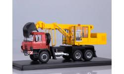 Tatra-815 экскаватор-планировщик UDS-114A красный/желтый, масштабная модель, Start Scale Models (SSM), scale43