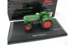 Fendt Farmer 2 green Редкий Шуко!, масштабная модель, Schuco, scale43
