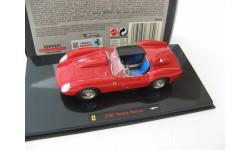 Ferrari 250 Testa Rossa Red, масштабная модель, 1:43, 1/43, Mattel Hot Wheels