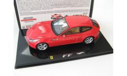 Ferrari FF 2010 red, масштабная модель, 1:43, 1/43, Mattel Hot Wheels