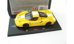 Ferrari FXX №22 Yellow, масштабная модель, 1:43, 1/43, Mattel Hot Wheels
