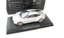 FORD Evos Concept Car 2012 Silver
