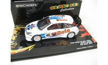 Ford Focus RS WRC #46 RAC Rally 2007 Rossi, Cassina, масштабная модель, scale43, Minichamps
