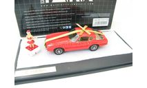Ghia 230 S Coupe red with golden Loop Christmas 2014, масштабная модель, Matrix, scale43