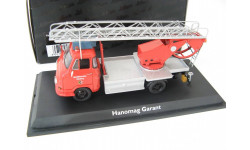 Hanomag Garant пожарная лестница 1964 г. Редкий Шуко!, масштабная модель, 1:43, 1/43, SCHUCO