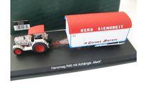 Hanomag R40 mit Mack Anhanger 'Circus Barum' Редкий Шуко!, масштабная модель, SCHUCO, scale43