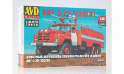 ЗИЛ-133ГЯ пожарный автомобиль комбинированного тушения АКТ-3,25, масштабная модель, AVD Models, Кировец, scale43