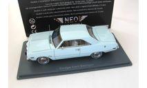 Dodge Dart Swinger 1973 light blue, масштабная модель, Neo Scale Models, scale43