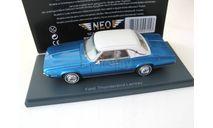 Ford Thunderbird Landau, met.-blue/white 1969, масштабная модель, 1:43, 1/43, Neo Scale Models