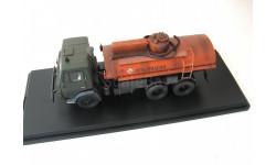 КаМАЗ-5320 АЦ-9 зеленый/оранжевый со следами эксплуатации