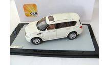 Infiniti QX56 white, масштабная модель, scale43, GLM