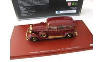 Cadillac Deluxe Tudor Limousine 8C 1932 'The Last Emperor of China' (maroon), масштабная модель, scale43, True Scale Miniatures