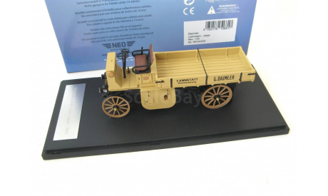 Daimler Motor Lastwagen 1898 beige, масштабная модель, Neo Scale Models, scale43