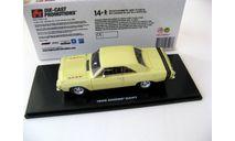 DODGE Dart GTS 1968 Sunfire Yellow, масштабная модель, 1:43, 1/43, Highway 61