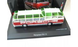Neoplan FH 11 'Porsche racing service' red/white. Редкий Шуко!