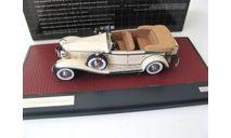 CORD L-29 Phaeton Sedan (открытый) 1931 Beige, масштабная модель, scale43, Matrix