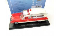 CADILLAC S&S Ambulance (скорая медицинская помощь) 1966 Red/White SALE!