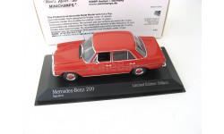 Mercedes-Benz 200D (W115) 1968 red