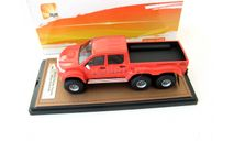 Toyota Hilux AT44 6x6 Arctic Truck Pick-Up 2014 dark orange, масштабная модель, 1:43, 1/43, GLM