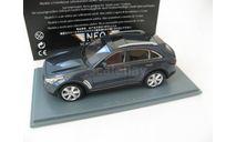 Infiniti FX50S blue metallic 2010, масштабная модель, 1:43, 1/43, Neo Scale Models