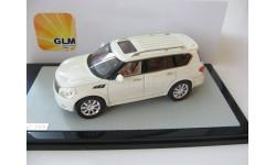 Infiniti QX56 white, масштабная модель, 1:43, 1/43, GLM