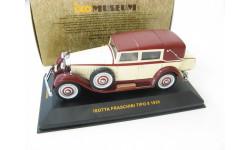 ISOTTA FRASCHINI TIPO 8 1930 г. Редкая Музейка!, масштабная модель, scale43, IXO Museum (серия MUS)