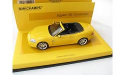 Jaguar XK convertible 2005 Linea Giallo №5, масштабная модель, Minichamps, scale43