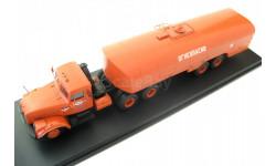 КрАЗ-258 с п/п цистерной ТЗ-22 оранжевый 'Аэрофлот', масштабная модель, 1:43, 1/43, Start Scale Models (SSM)