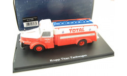 Krupp Titan Tankwagen 'Total' Редкий Шуко!, масштабная модель, 1:43, 1/43, SCHUCO