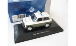 LADA NIVA 4х4 VOLKSPOLIZEI 1978 г., масштабная модель, 1:43, 1/43, CARS&CO, ВАЗ