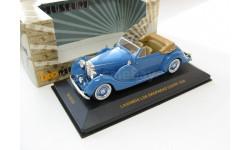 LAGONDA LG6 DROPHEAD Coupe Blue 1938 г. SALE!, масштабная модель, 1:43, 1/43, IXO Museum (серия MUS)