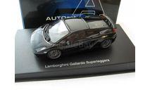 Lamborghini Gallardo Superleggera (black), масштабная модель, scale43, Autoart