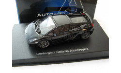 Lamborghini Gallardo Superleggera (black), масштабная модель, 1:43, 1/43, Autoart