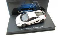 Lamborghini Gallardo Superleggera (white metallic), масштабная модель, 1:43, 1/43, Autoart
