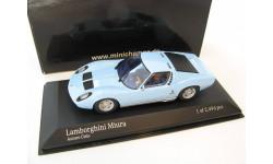 Lamborghini Miura 1966 bright blue
