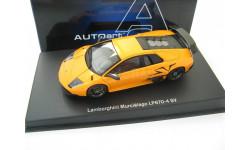 Lamborghini Murcielago LP670-4 SV 2009 (orange), масштабная модель, Autoart, scale43
