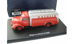 Magirus S6500 Tanker 'Gasolin' Редкий Шуко!!!, масштабная модель, 1:43, 1/43, Schuco