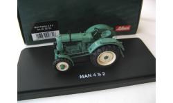 MAN Traktor 4 S2. Редкий Шуко!, масштабная модель, SCHUCO, scale43