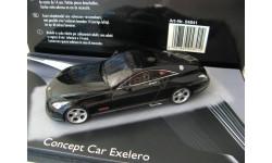 Maybach Exelero Concept Car Fulda 2005. Редкий Шуко!, масштабная модель, Schuco, scale43