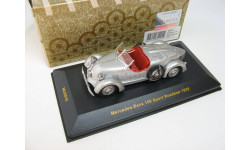 MERCEDES-BENZ 150 Sport Roadster Silver with Red interiors 1935 г. RARE!