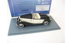 Mercedes-Benz 170V Roadster black/beige 1936, масштабная модель, Neo Scale Models, scale43